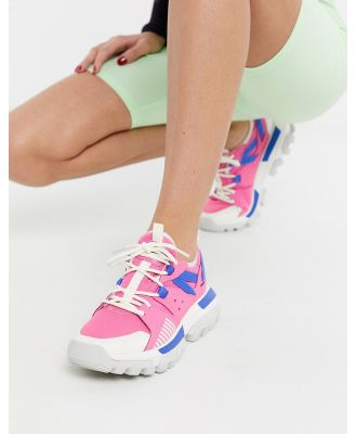 CAT Raider Sport chunky sneakers in pink mix