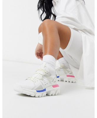 CAT Raider Sport chunky sneakers in white mix