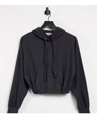 Catch Exclusive oversized hoodie in charcoal-Grey