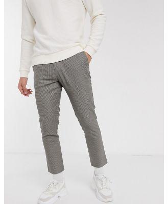 Celio smart pants in grey check
