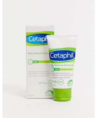 Cetaphil Daily Facial SPF50+ for Sensitive Skin 50g-Clear