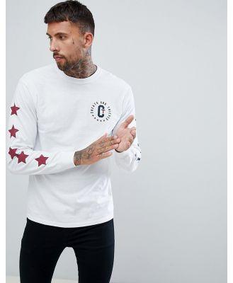 Cheats & Thieves Circle Crest Back Print T-Shirt - White