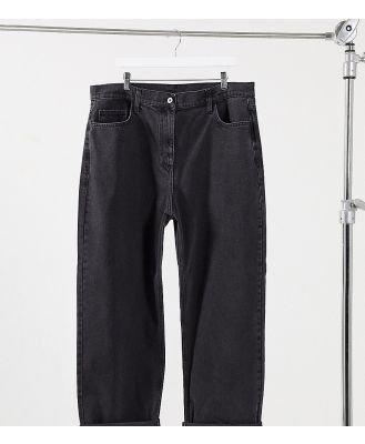 COLLUSION Plus x014 90s baggy dad jeans in washed black