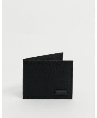 Consigned bi fold wallet-Black
