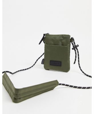 Consigned rope strap cross body bag-Green