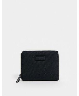 Consigned zip around wallet-Black