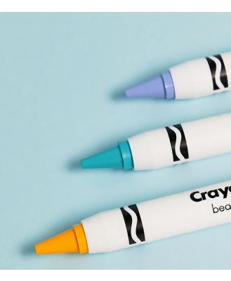Crayola Colour Crayon Trio Macaron - Face Crayons-Multi
