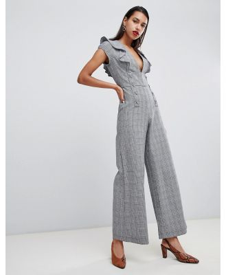 Current Air Check Jumpsuit-Multi