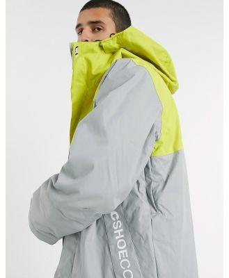 DC Defy Snow Jacket Neutral Grey
