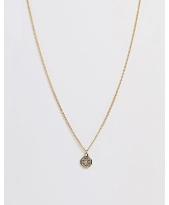 DesignB gold coin necklace
