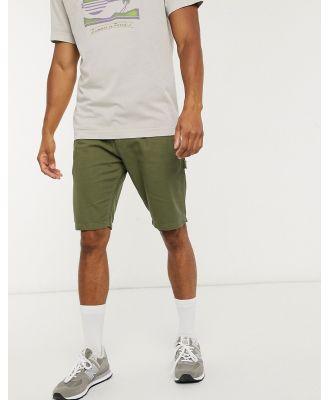 Dickies Fairdale shorts in dark olive-Green