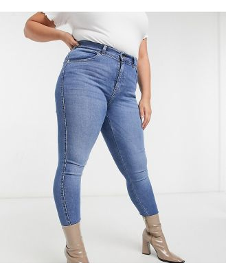 Dr Denim Plus Lexy skinny jeans in sky blue