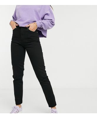 Dr Denim Tall Nora high rise mom jeans in black