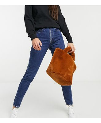 Dr Denim Tall Nora high rise mom jeans in blue