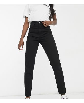 Dr Denim Tall Nora straight jeans in black