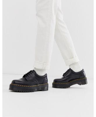 Dr Martens 8053 quad platform shoes in black