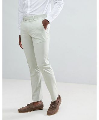 Farah Skinny Suit Pants In Green