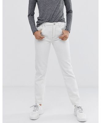 Finery Aiko straight cut jeans - White