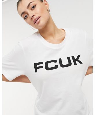 French Connection FCUK t-shirt in white