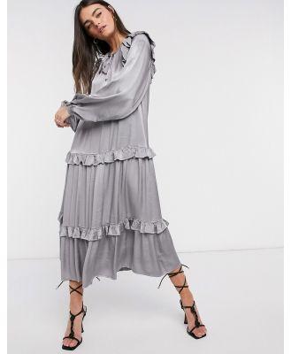 Ghost Zoelle dress in grey