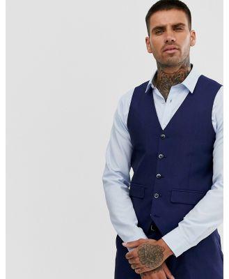 Harry Brown Blue Tonic Waistcoat