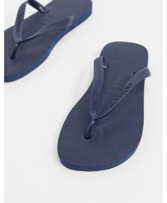 Havaianas classic thongs in navy