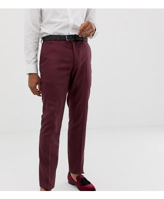 Heart & Dagger skinny fit suit pants in red