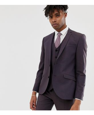 Heart & Dagger slim suit jacket in brown