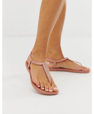 Ipanema pop glitter flat sandals - Pink