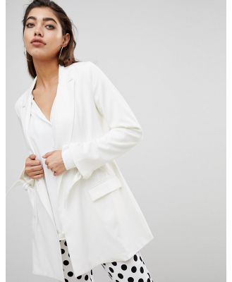 Ivyrevel Blazer with Cuff Detail - Cream