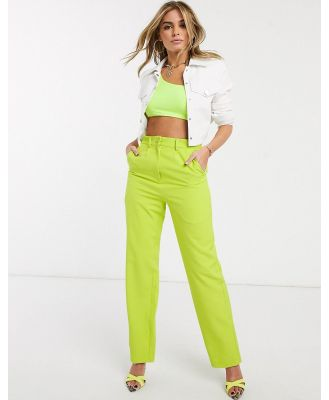 Ivyrevel tailored pant in lime-Green