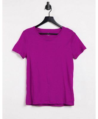 J. Crew vintage cotton crewneck t-shirt in purple