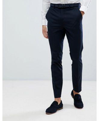 Jack & Jones Premium slim fit suit pants in navy