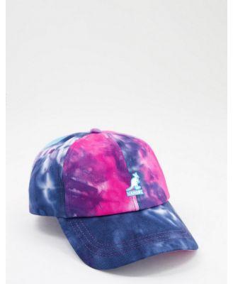Kangol baseball cap in tie dye-Multi