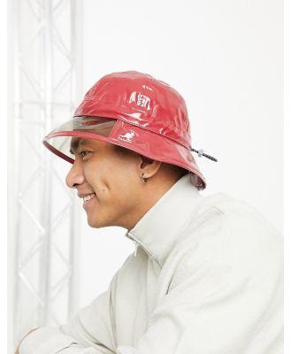 Kangol rain hat in red