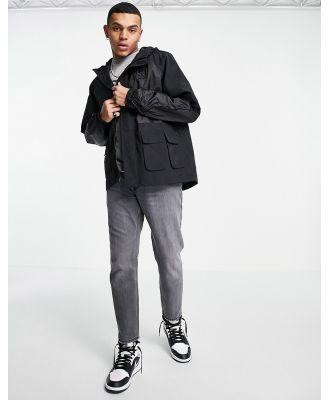 Karl Kani signature utility jacket in black