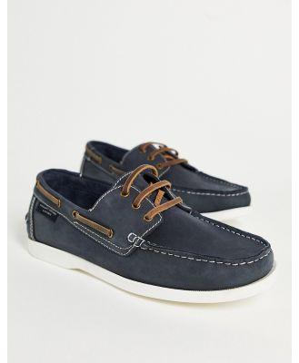 KG Kurt Geiger Blink boat shoes in navy