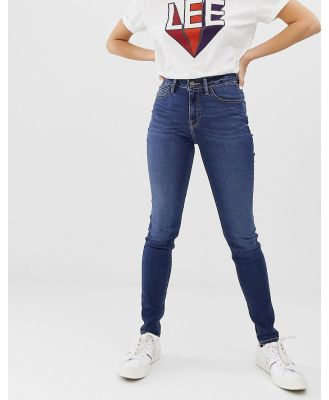 Lee Scarlett High Rise Skinny Jeans - Navy
