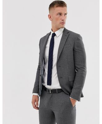 Moss London suit jacket in grey