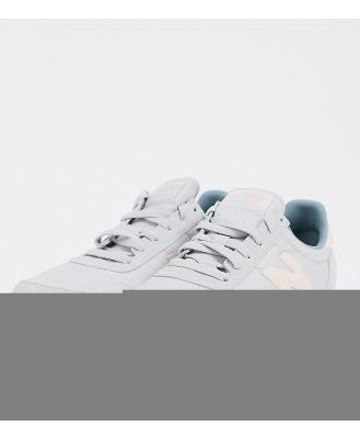 New Balance 720 trainers in grey/pink exclusive to ASOS