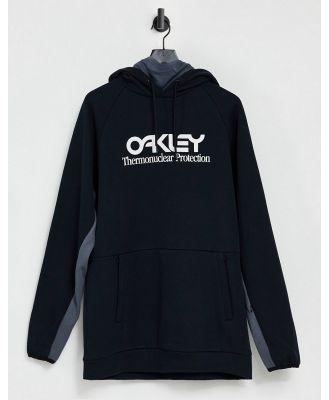 Oakley TNP DWR fleece ski hoodie in black