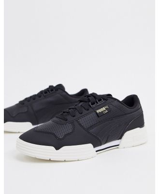 Puma CGR performance sneakers in black and white