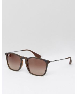 Ray-Ban Keyhole Wayfarer sunglasses 0rb4187 - Brown