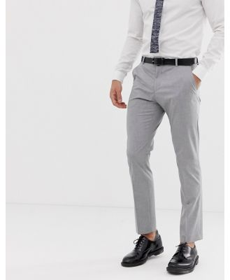 Selected Homme slim fit suit pant with stretch in light grey