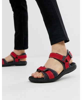 Silver Street chunky trail sandal in navy