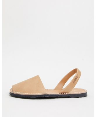 Solillas leather menorcan sandals in tan-Brown
