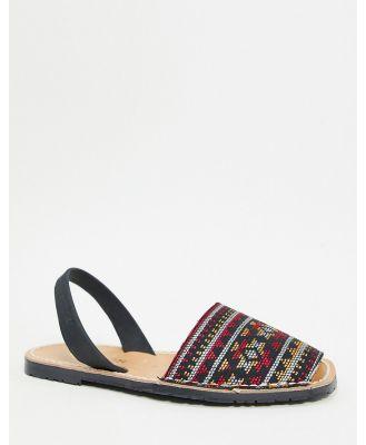 Solillas menorcan sandals in geometric print-Multi