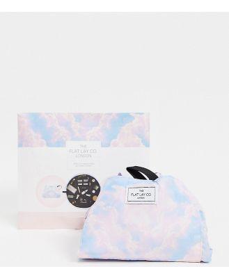 The Flat Lay Co. x ASOS Exclusive Drawstring Makeup Bag - Clouds Print-No colour