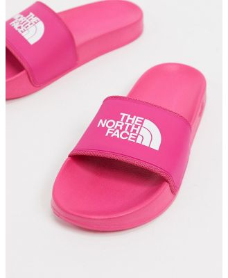 The North Face Base Camp slider in pink