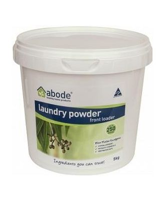 Abode Front & Top Loader Eucalyptus Laundry Powder 5kg